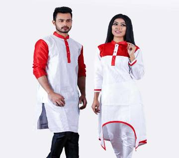 Boishakhi Exclusive Couple Dress