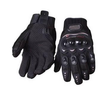 Pro-Biker Full Bike Riding Gloves - Black