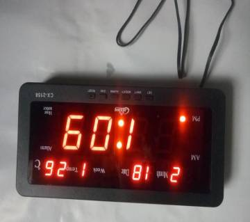 Digital LED clock small