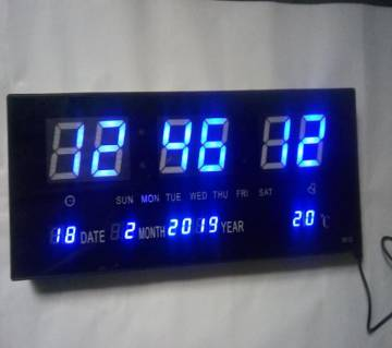 Digital LED clock Large