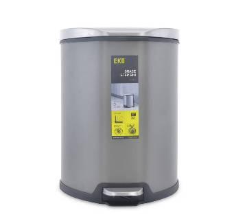 Silver Stainless Steel 5L Dustbin