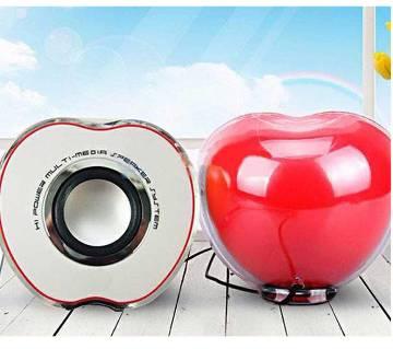Apple shaped mini speaker