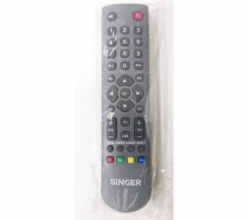 SINGER LCD TV remote control