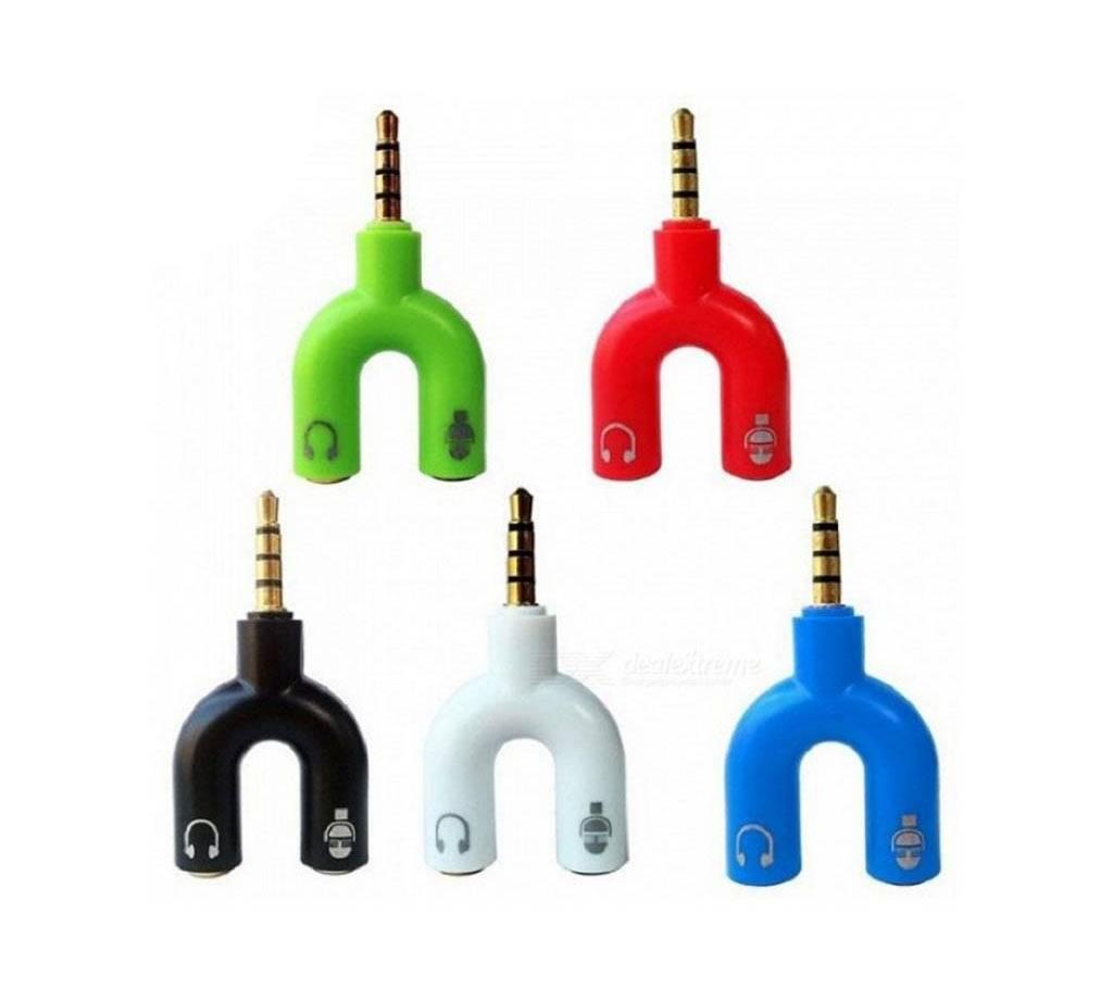 Splitter 3.5mm Audio Converter - 1 Piece বাংলাদেশ - 687786