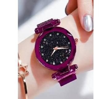 Dior magnet ladies watch purple