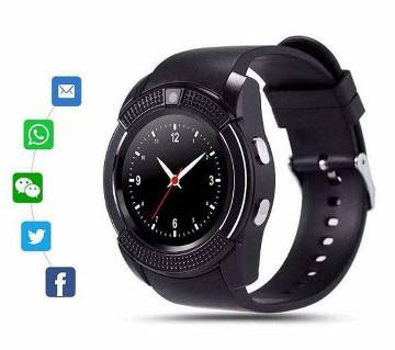 V8 smart watch with sim supported