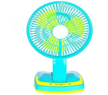 Portable Led Light With Mini Fan
