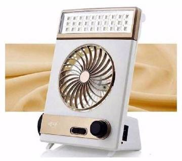 3 in 1 rechargeable fan & Light