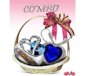 Valentine Combo offer pendant with finger ring