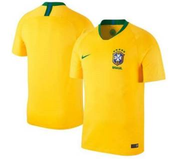 World Cup 2015 Brazil Home Short-Sleeve Jersey