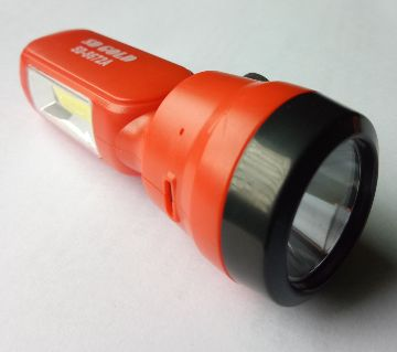 Rechargeable Dual LED Torch Light