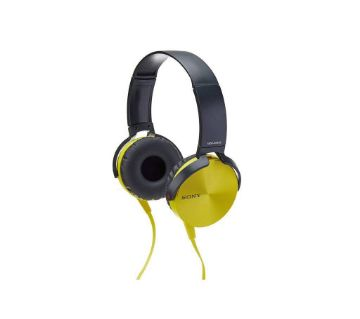 sony extra bass headphone golden