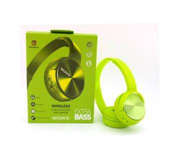 SONY-MDR-XB400BY wirless headphone  green