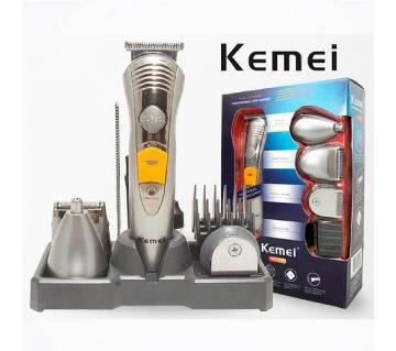 Kemei KM-580A 7 in 1 rechargeable grooming kit