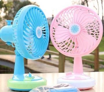 USb rechargable fan