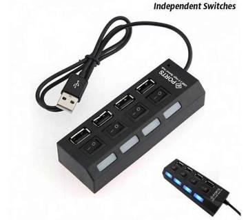 4-Port USB হাব