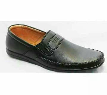 Lather Loafer Shoes