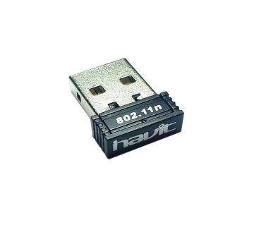 HV-WF15 - 150Mbps WiFi USB Adapter - Black
