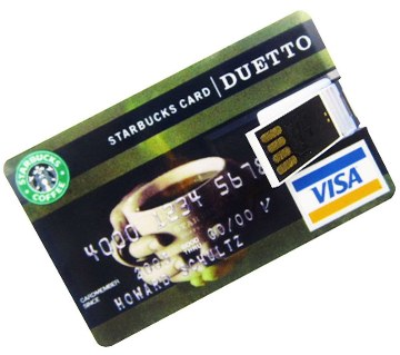 Credit Card Shape Pendrive-32 GB