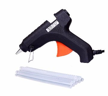 Hot Melt Glue gun 100W + 5 Pcs Glue Strick 11 Inch