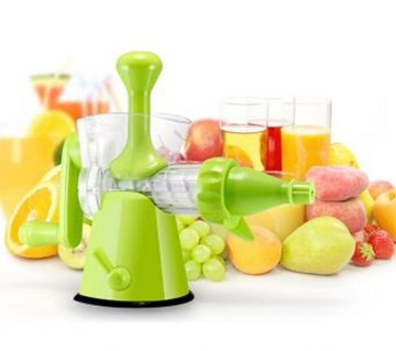 Multifunctional hand juicer