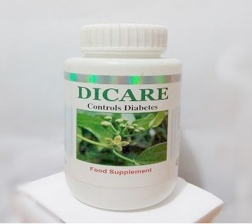 Dicare(Diabetics control food supplement)-60 pc