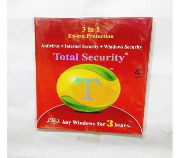 Total Security এন্টিভাইরাস - 3 year