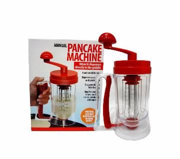 Manual pancake machine and dispenser