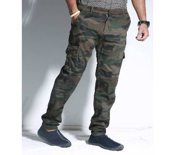 Gents Stretch Camo Long Cargo Pant (CP77)