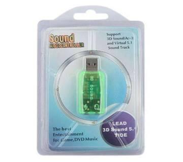 USB 3D সাউন্ড কার্ড