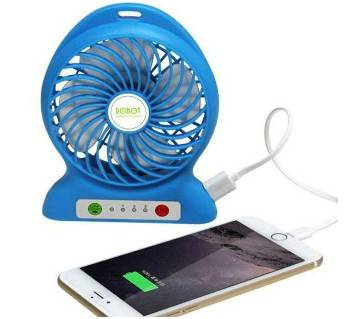 Rechargeable USB Fan & Power Bank