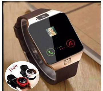 DZ09 Smart Watch With Free 3 Clip Lenses