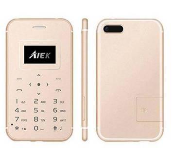 AIEK X8 মিনি কার্ড ফোন
