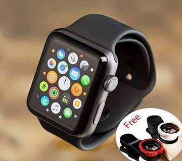 D7 sim supported smart watch with selfie lense