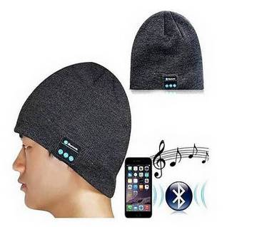 Bluetooth Music Cap with Stereo Headset