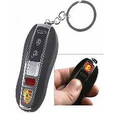 Porsche USB রিচার্জেবেল লাইটার with key ring