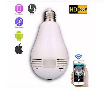 360 Degree Panoramic IP Camera Bulb Light
