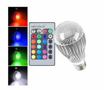 রিমোট LED RGB বাল্ব লাইট