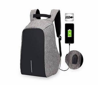 অ্যান্টি থেফট ব্যাকপ্যাক-USB চার্জিং পোর্টসহ
