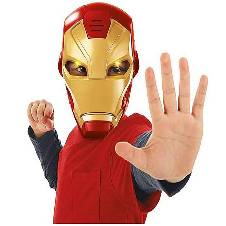 Iron Man LED লাইট মাস্ক