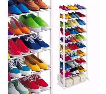 The Best Quality 10-shelf Shoe Rack Online in BD   AjkerDeal.com1