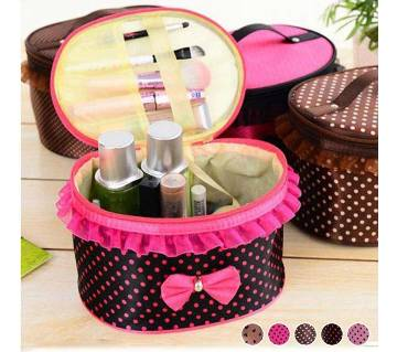 Bow Storage Bag Cosmetics Organizer