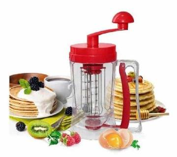 Manual pancake machine and dispenser