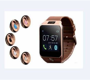 DZ09 smart watch-sim supported with headset