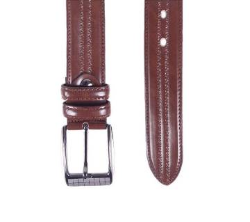 Chocolate  Artificial Leather belt For Man