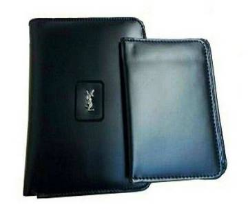 YSL Leather Wallet For Man (Copy)