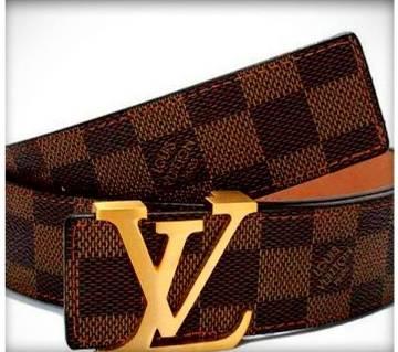 LOUIS Vuitton জেন্টস ক্যাজুয়াল বেল্ট