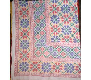 King Size Cotton Nakshi Kantha