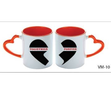 Together Forever valentine love couple mug