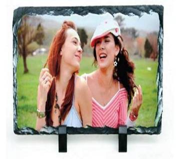 Sublimation Rock Stone & Photo Stand